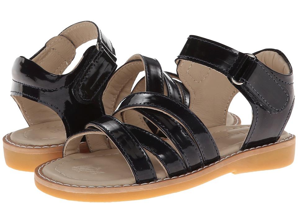 Elephantito 2C Sandal Toddler/Little Kid Navy Girls Shoes