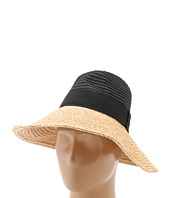 BCBGMAXAZRIA - Dramatic Color Block Panama Hat