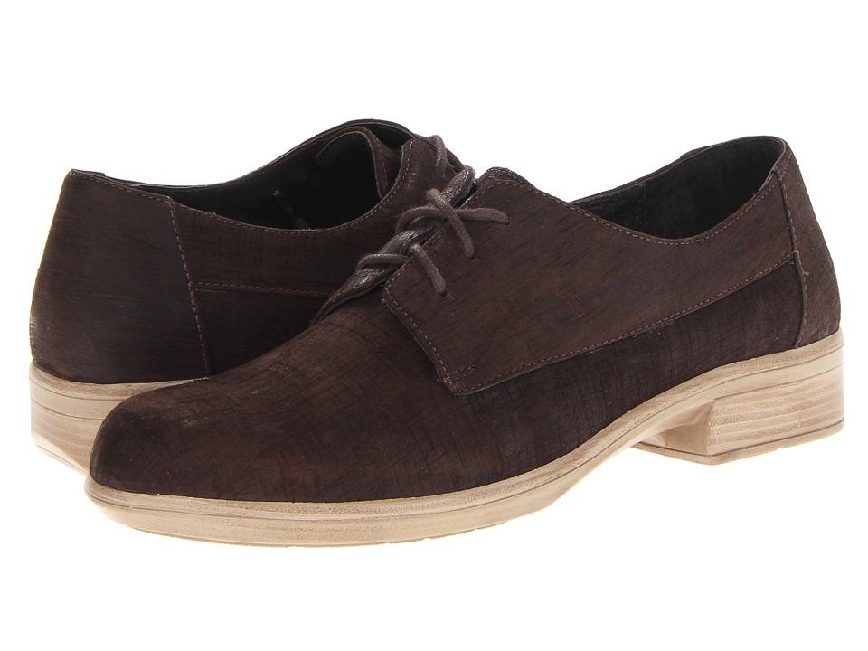 Naot Footwear - Kedma (Mine Brown Leather) Women