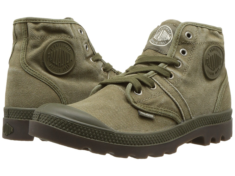 Palladium Pallabrouse (Dark Olive/Dark Gum) Men