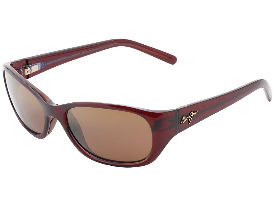 Maui Jim - Kuiaha Bay (Rootbeer Blue/HCL Bronze) Sport Sunglasses