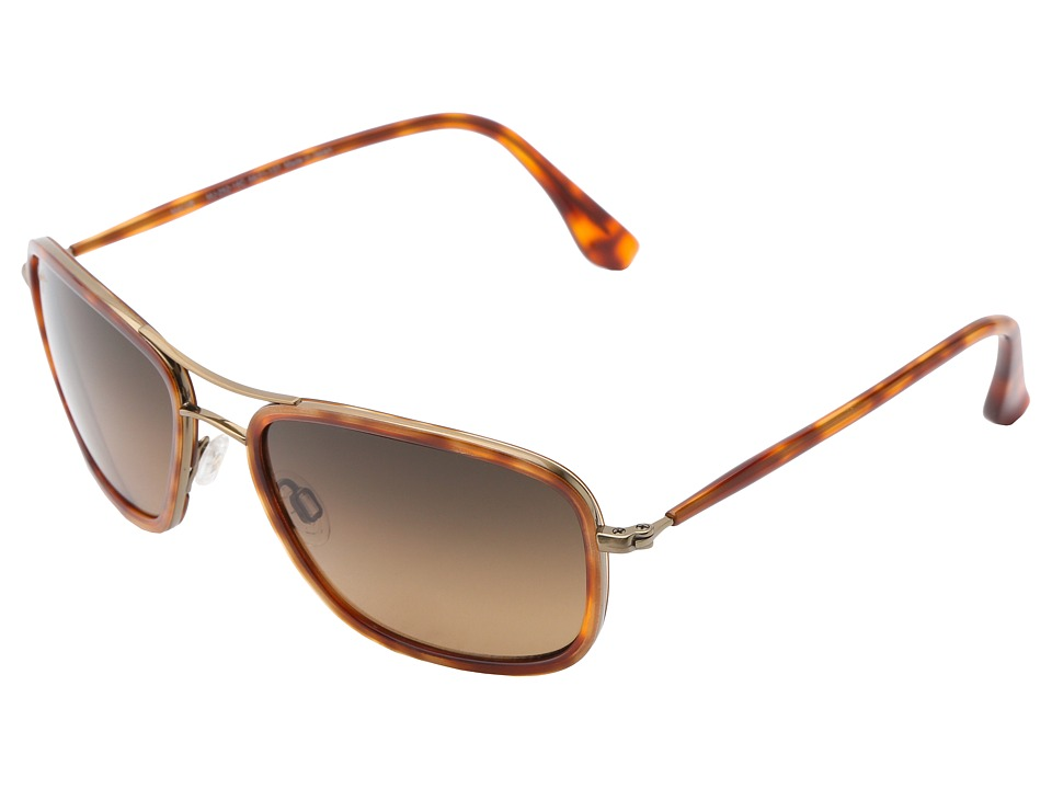 Maui Jim Hawaiian Time Antique Gold/HCL Bronze Sport Sunglasses