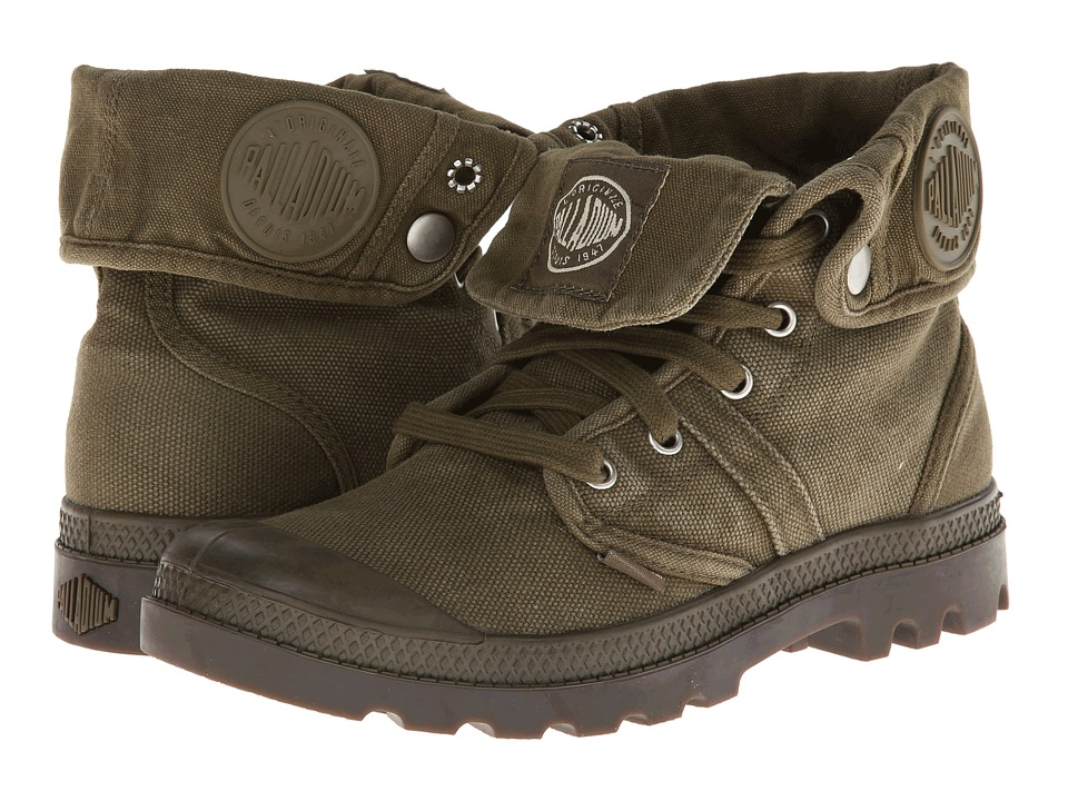 Palladium Pallabrouse Baggy (Dark Olive/Dark Gum) Men