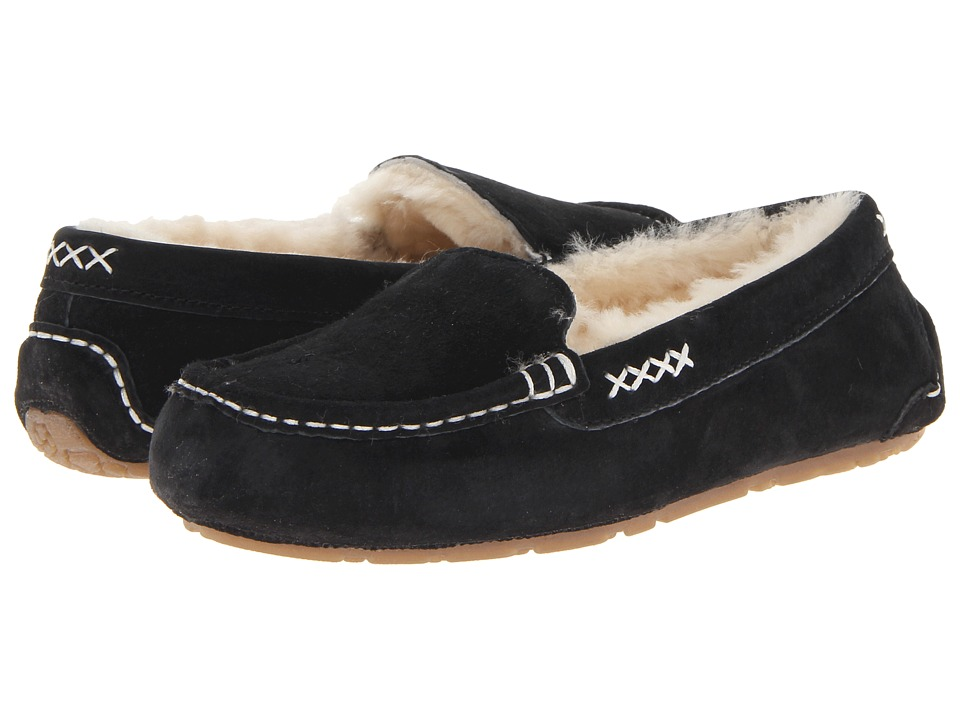 Old Friend Bella (Black) Slippers