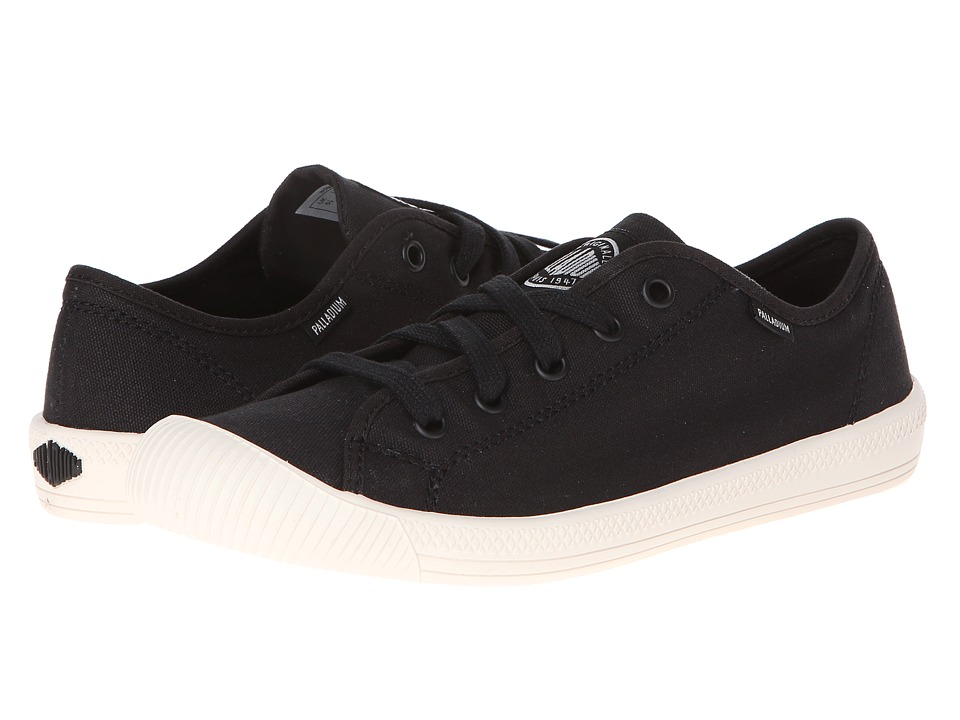 Palladium Flex Lace (Black/Marshmallow) Women