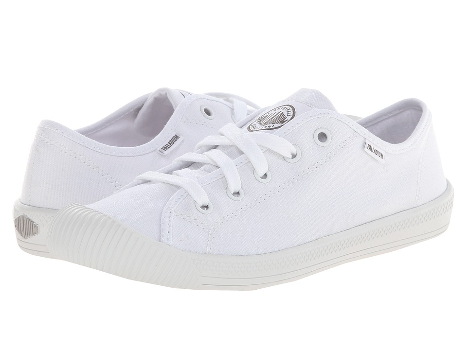 Palladium Flex Lace (White/Vapor) Women