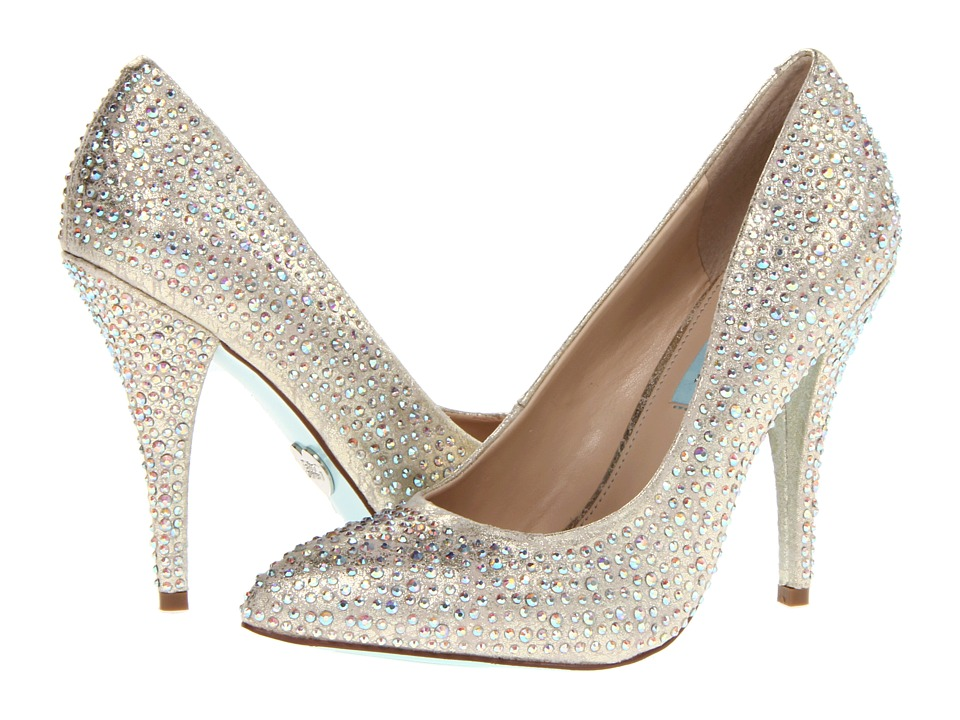 Blue by Betsey Johnson Shine (Champagne Fab) High Heels