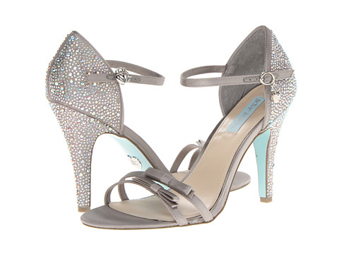 Blue by Betsey Johnson Luxe Silver Shoes Blue by Betsey Johnson Crown