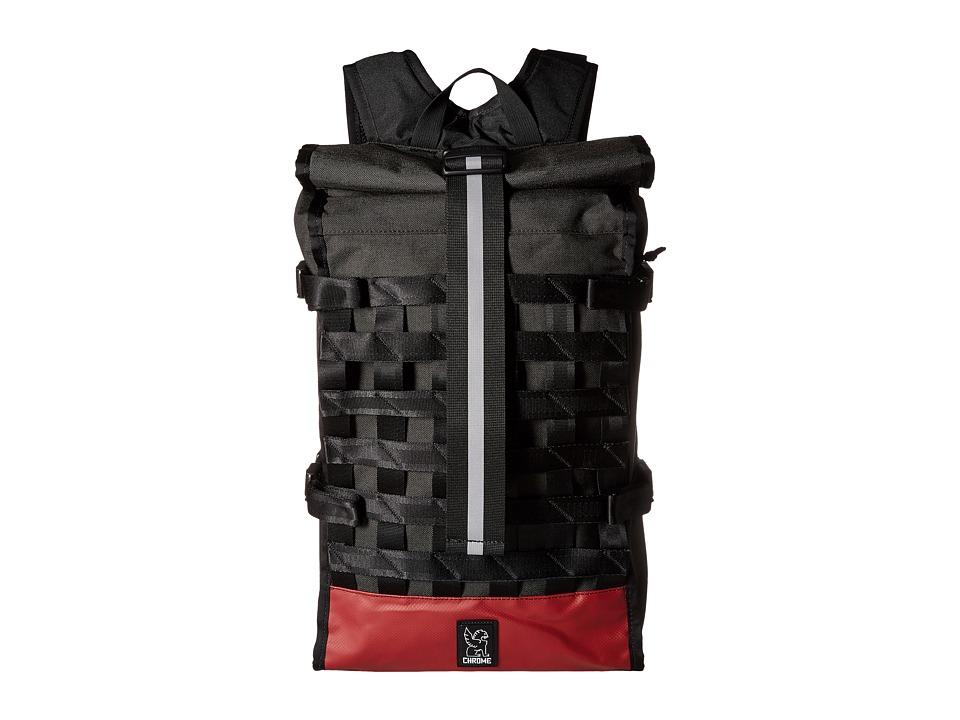 Chrome Barrage Graphite/Crimson Bags