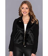 Vince Camuto - Ponyhair & Ponte Jacket
