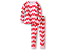 BedHead Kids - Girls' L/S Kids Snug PJ Set (Toddler/Little Kids) (Gatsby Hearts) - Apparel