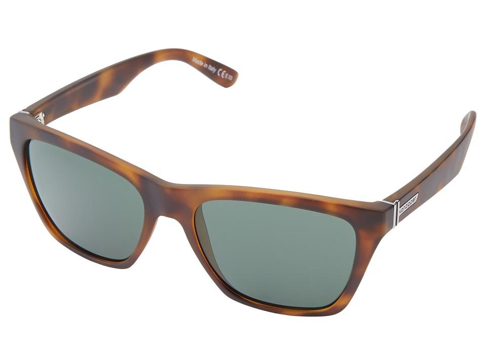 VonZipper Booker Tort Satin/Vintage Grey Sport Sunglasses