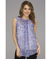 Vince Camuto - Center Pleat S/L Snake Blouse