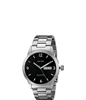 Jack Spade - Glenwood 42 MM Day/Date Watch with Black Face