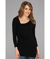 Vince Camuto - 3/4 Sleeve Side Drape Top
