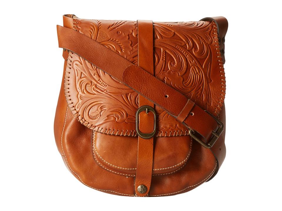 Patricia Nash - Tooled Barcelona (Florence) Cross Body Handbags