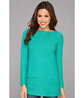 Vince Camuto - Two Pocket Boatneck Pullover