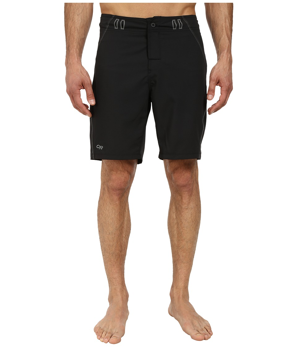 Outdoor Research Backcountry Boardshorts Black/Pewter Mens Swimwear