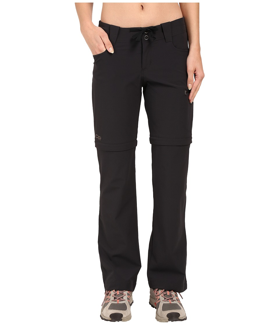 Outdoor Research Ferrosi Convertible Pants (Black) Women