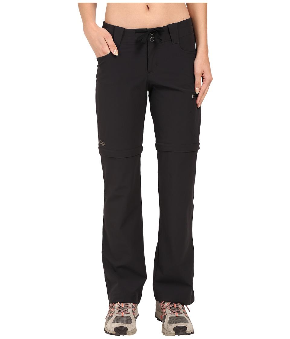 Outdoor Research Ferrosi Convertible Pants (Black) Women'...