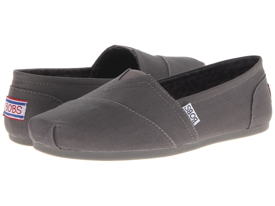 BOBS from SKECHERS Bobs Plush Peace and Love (Charcoal) Women