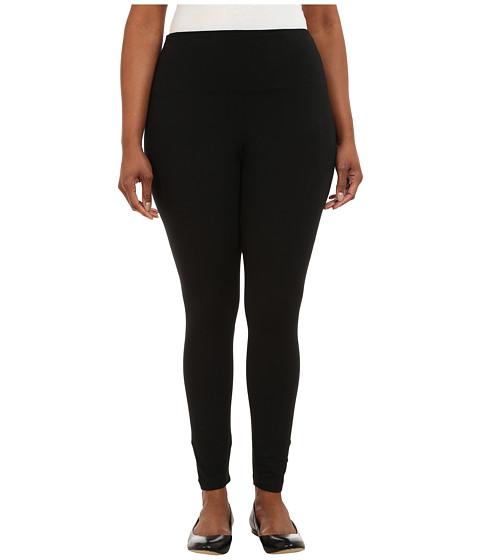 Lysse Plus Size Tight Ankle Legging 12190 (Black) Women's Clothing