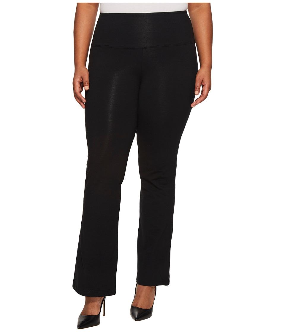 Lysse - Plus Size Bootcut Legging 12290 (Black) Womens Casual Pants