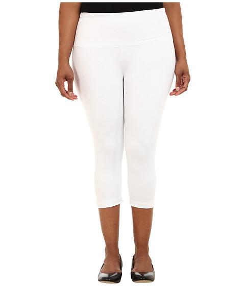 Lysse - Plus Size Cotton Capri 12150 (Turquoise) - Apparel