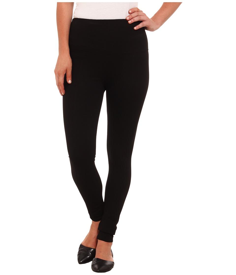Lysse - Ponte Legging w/ Center Seam 1519 (Black) Womens Clothing