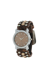 M&F Western - Scalloped Calf Hair Watch