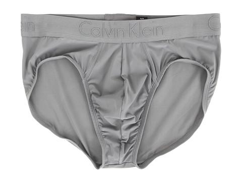 Calvin Klein Underwear CK Black Hip Brief - Grey Sky