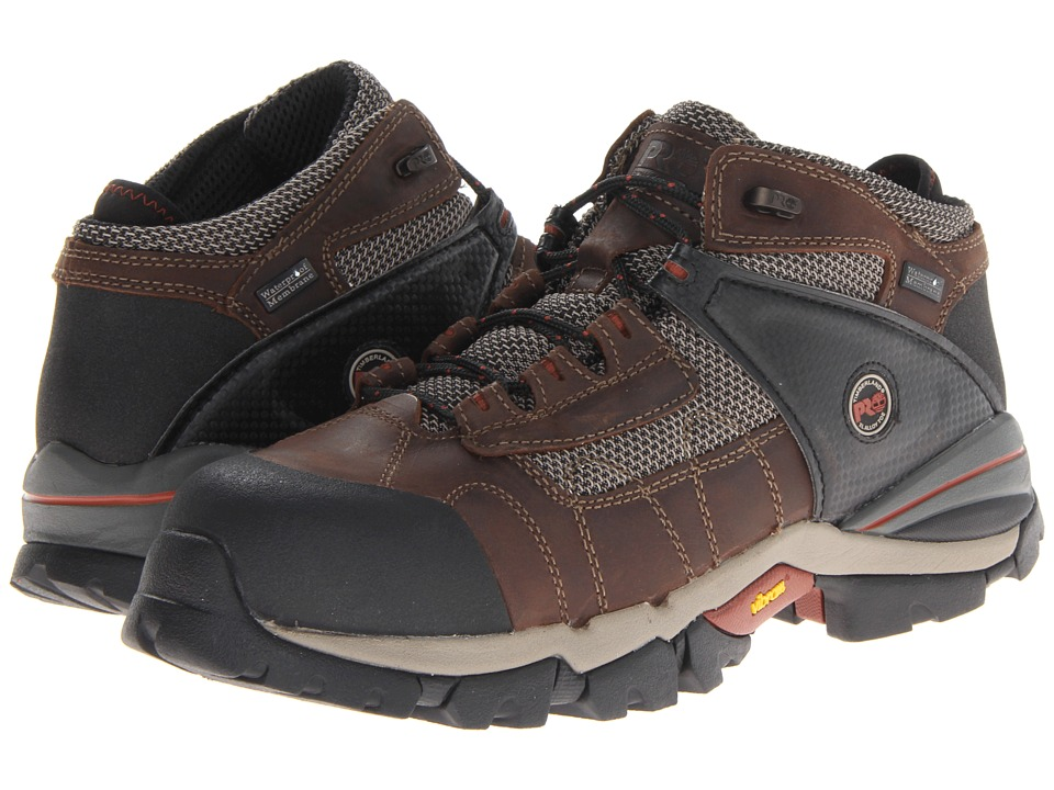 Timberland PRO - Hyperion WP 4 Safety Toe Hiker (Brown) Men
