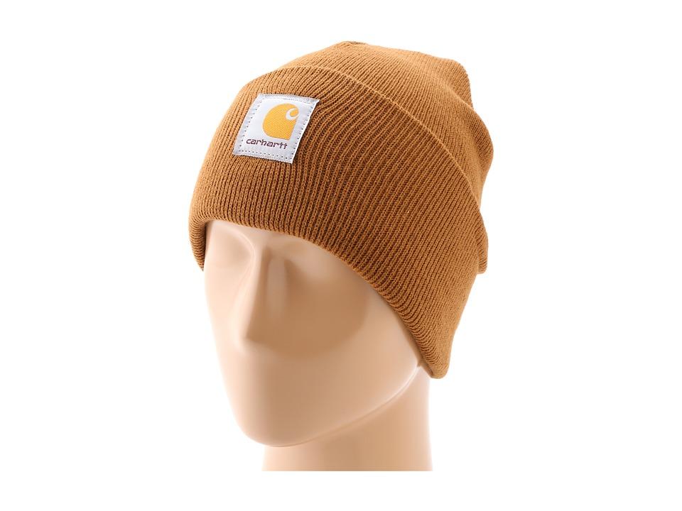 Carhartt - Acrylic Watch Hat (Carhartt Brown) Beanies