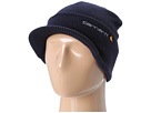 Carhartt Knit Hat with Visor (Navy)