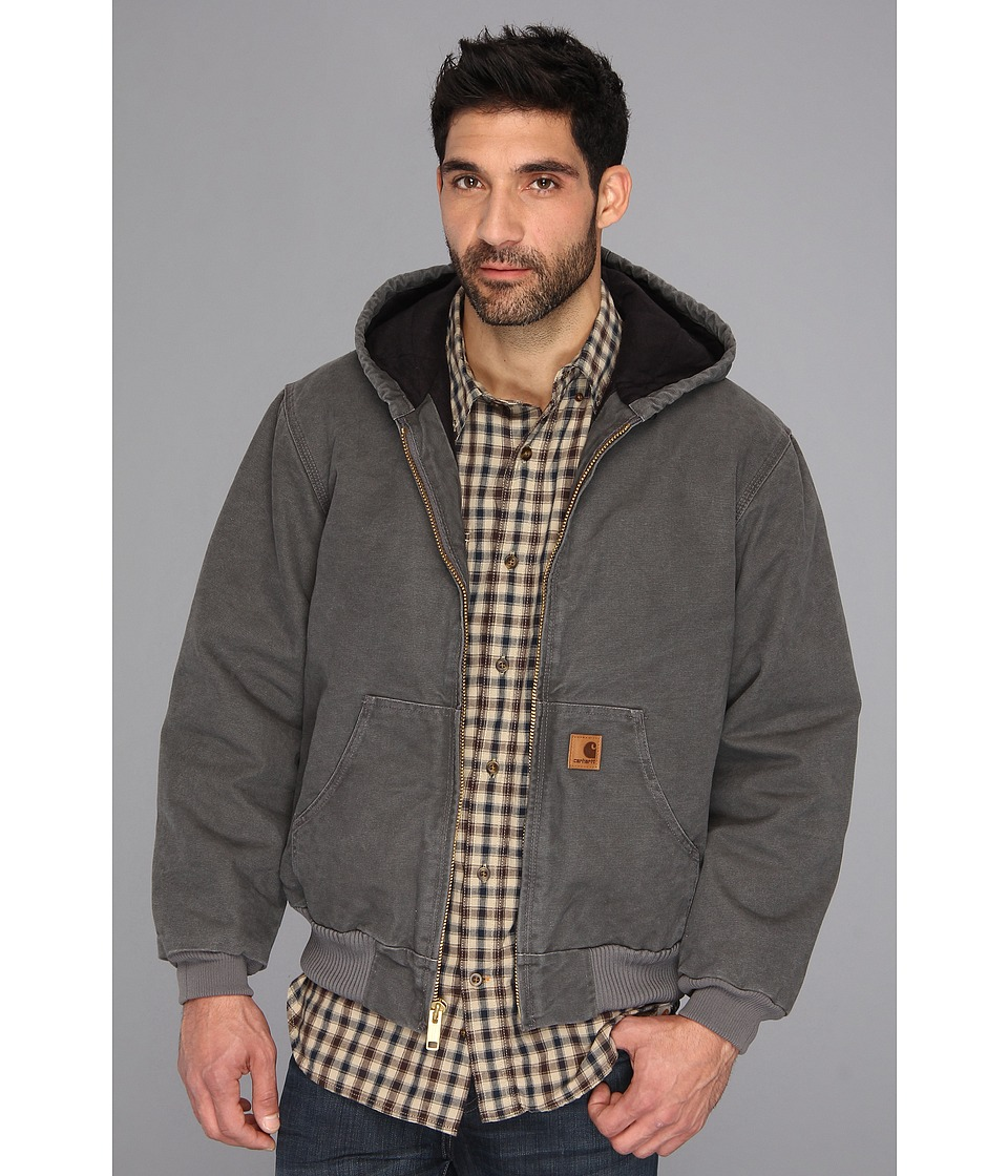 Carhartt Big Tall QFL Sandstone Active Jacket Gravel Mens Jacket