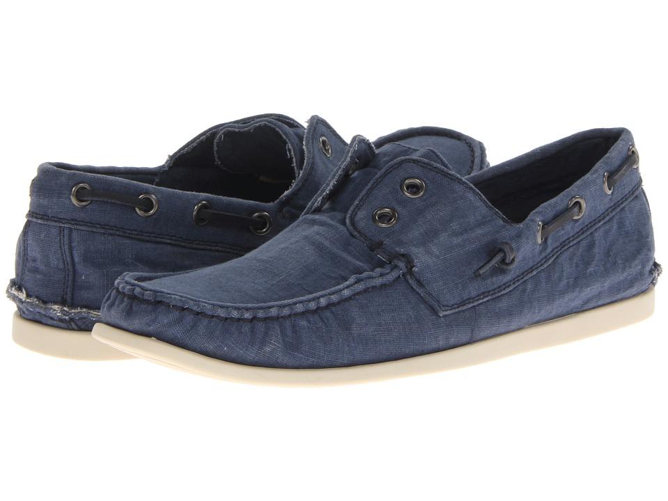 John Varvatos Schooner Boat Stream 1 Mens Slip on Shoes