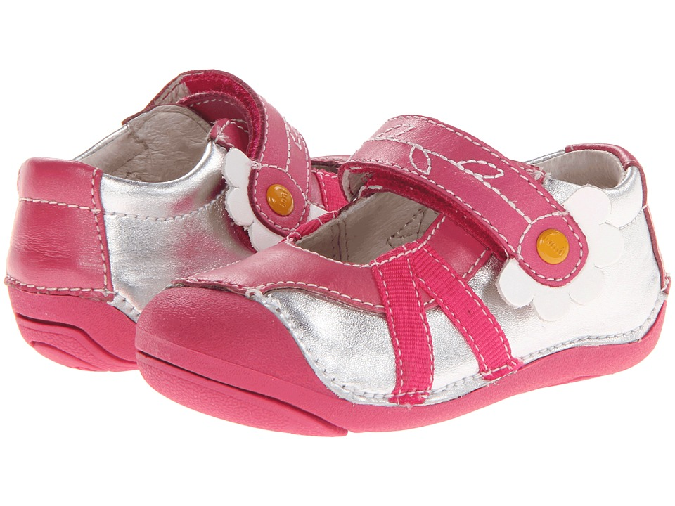 Umi Kids Cassia Infant/Toddler Silver Multi Girls Shoes