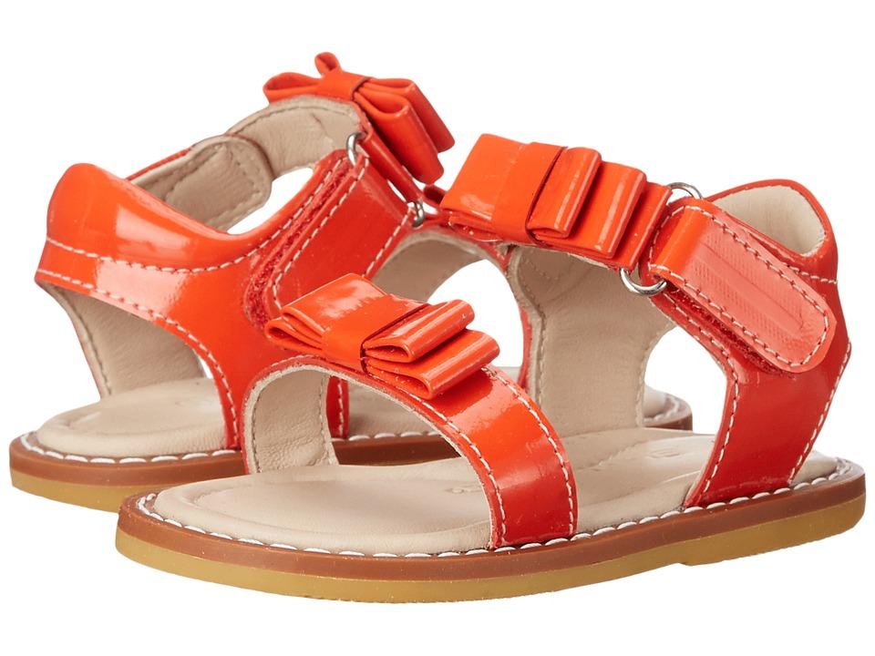 Elephantito Nicole Sandal Toddler Poppy Red Girls Shoes