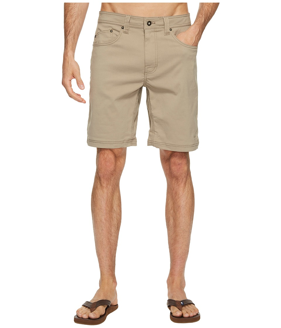Prana Brion Short (Dark Khaki) Men