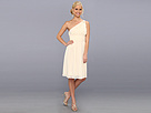 Donna Morgan Rhea One-Shoulder Dress (Candlelight)