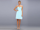 Donna Morgan - Morgan Sweetheart Dress (Gulfstream) - Apparel