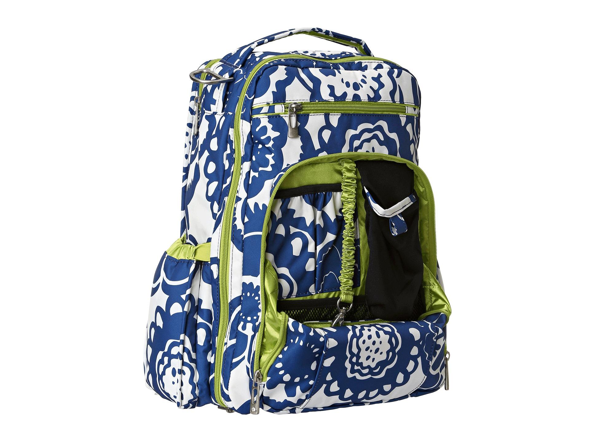 ju ju be be right back backpack diaper bag shipped free. Black Bedroom Furniture Sets. Home Design Ideas