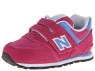 New Balance Kids KV574 Toddler Fuchsia Shoes