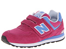 New Balance Kids KV574 Little Kid, Big Kid Fuchsia Shoes