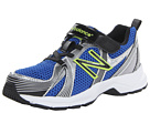 New Balance Kids KA554 Little Kid, Big Kid Blue, Hi Viz Shoes