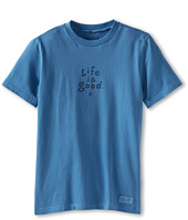 Life is good Kids - Stacked LIG Crusher Tee (Big Kids)