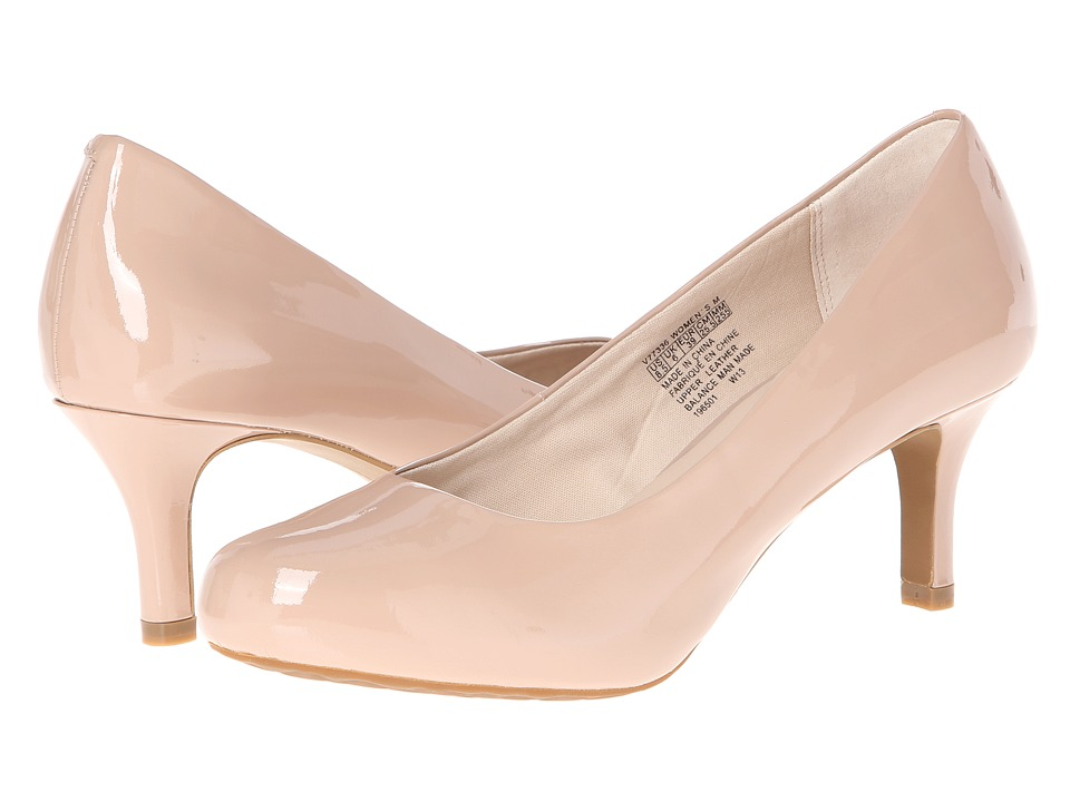 Rockport Seven to 7 Low Pump (Taupe Patent) High Heels