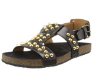 Marc Jacobs - Studded Leather Sandal (Black) - Footwear