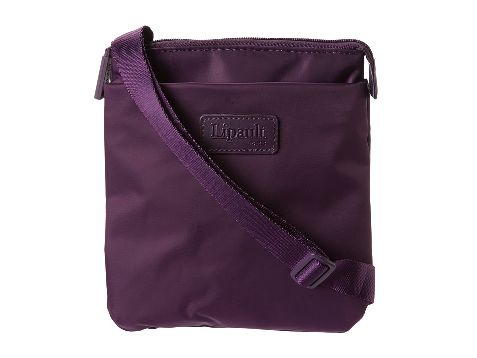 Lipault Paris - JPF Series - Medium Cross Body Bag (Purple) Cross Body Handbags