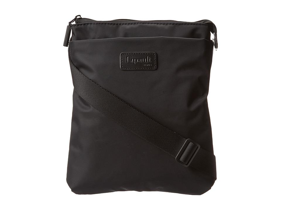 Lipault Paris JPF Series Large Cross Body Bag Black Cross Body Handbags